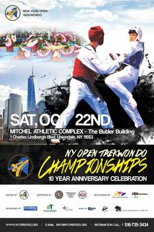 New York Open TaeKwonDo Organizing Committee logo