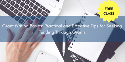 free grant writing class Whether you're new to writing grants or looking to enhance your skills, nonprofitready offers online courses, videos, and how-to guides to help develop your career.
