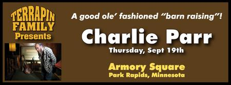Charlie Parr at Armory Square!