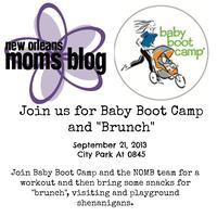 "Baby Boot Camp and ""Brunch"""