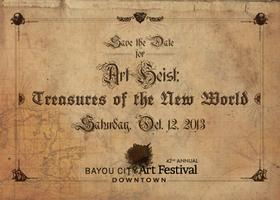 Bayou City Art Festival's Art Heist: Treasures of the...
