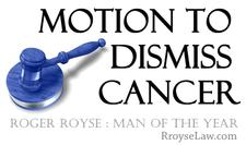 Roger Royse, leader of the Team Motion to Dismiss Cancer  logo
