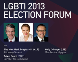 LGBTI 2013 Election Forum
