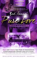 3rd Annual Pure Love Date Auction