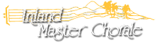 Inland Master Chorale logo