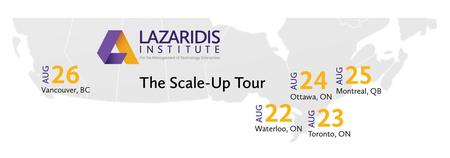 Waterloo Lazaridis Institute Scale Up Tour