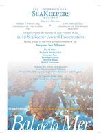 Bal de la Mer - 2013 SeaKeeper Award Presentation