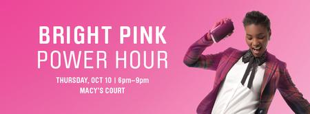 Bright Pink Power Hour: Fashion Comes to Life