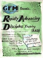 Atlanta Rapidly Advancing Disciples (RAD) Training