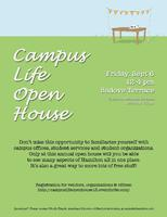 Campus Life Open House 2013