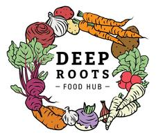 Deep Roots Food Hub logo