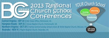 2013 Regional Church School Conferences