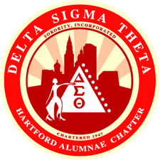 The Hartford Alumnae Chapter, Delta Sigma Theta Sorority, Inc. logo