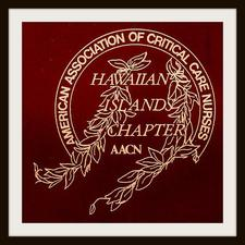Hawaiian Islands Chapter of the American Association of Critical Care Nurses logo