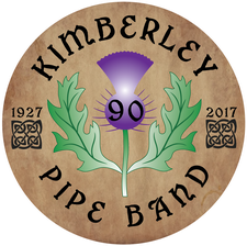 Kimberley Pipe Band 90 Tattoo logo