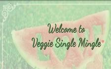 Veggie Single Mingle logo