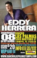 Eddy Herrera en vivo!
