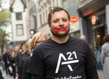 A21 Walk For Freedom Zwolle logo