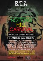 E.T.A & REAL NICE presents MONDAY @ THE NOTTING HILL...