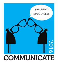 Communicate 2016: Swapping Spectacles logo