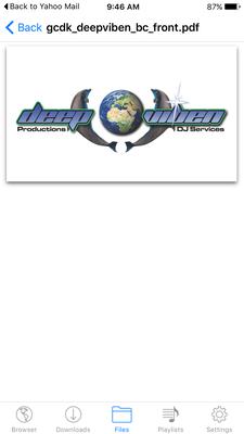 Deep Viben Productions  logo