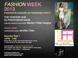 FashionWeek2013: Fashion Bloggers Networking...