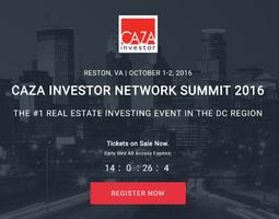 CAZA Investor Network Summit 2016