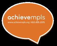 AchieveMpls and Citizens League  logo