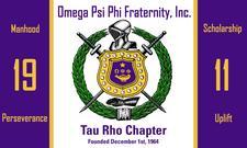 Tau Rho Chapter of Omega Psi Phi Fraternity logo