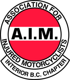 Association for Injured Motorcyclists Interior Chapter logo