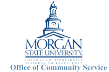 Morgan State Univeristy Office of Community Service logo