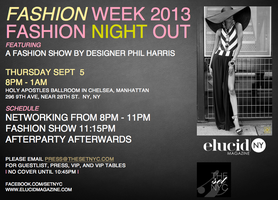 FashionWeek2013: Fashion Night Out - A Fashion Show by...
