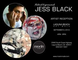 ARTIST JESS BLACK SHOWCASES LATEST WORKS AT RECEPTION I...