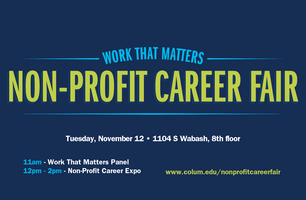 Work That Matters: Non-Profit Career Fair - Student &...