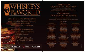 Whiskeys Of World - with IceBox Bar, Ben Arnold & The...
