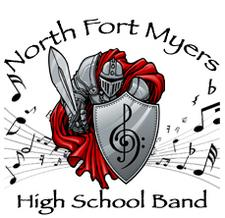 North Fort Myers High School Band logo