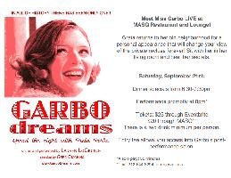 GARBO DREAMS