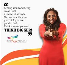 Dr.Ava  Eagle Brown- Life & Business Strategist , Global Speaker , Trainer & Book Coach logo