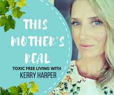 Kerry Harper from  This Mother's Real AKA Threads and Spreads logo