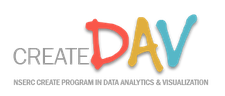 NSERC CREATE DAV Graduate Training Program logo