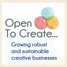 Open To Create... logo