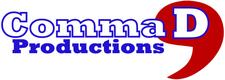 Comma, D Productions logo