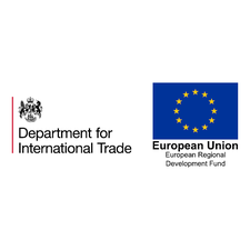 Department for International Trade South West logo