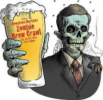 Zombie Brew Crawl - Oct. 19, 2013