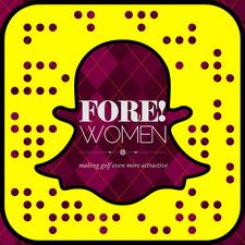 Felicity Dunderdale, FORE! WOMEN logo
