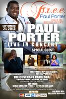 "Gospel Legend, ""Paul Porter"" - LIVE"