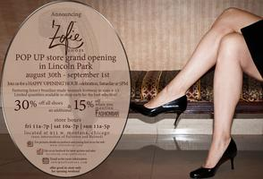 "FashionBar Chicago, announces Zofie Shoes ""POP UP""..."