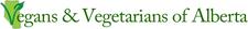 Vegans & Vegetarians of Alberta (VVoA) logo