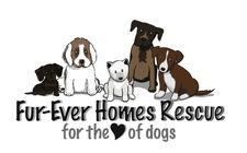 FUR-EVER HOMES RESCUE logo