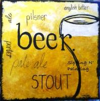 Sip N' Paint A Frosty Brew Sat May 19th 4pm